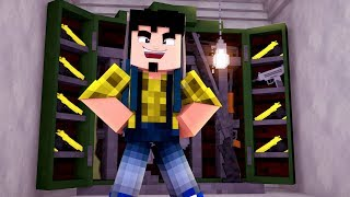 Minecraft: ARSENAL DE ARMAS SECRETO ! - COISAS ESTRANHAS Ep.3 ‹ CORUJ4 ›
