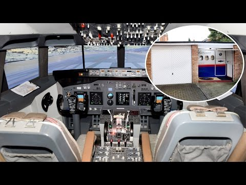 Aimee - World Class Flight Simulator in a Garage