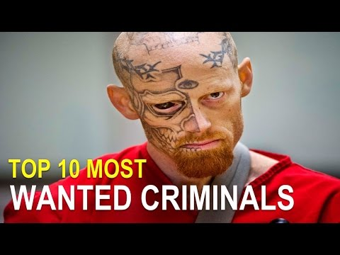 Top 10 Most Wanted Criminals of 2015