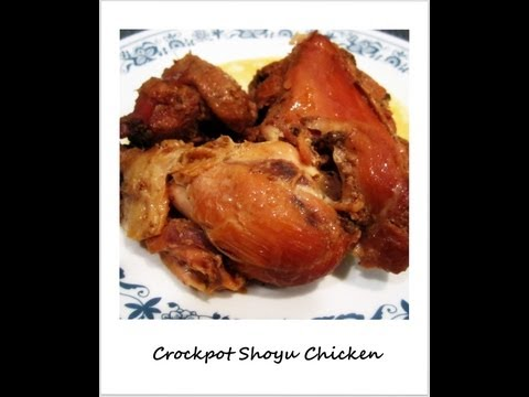 Crockpot Shoyu Chicken