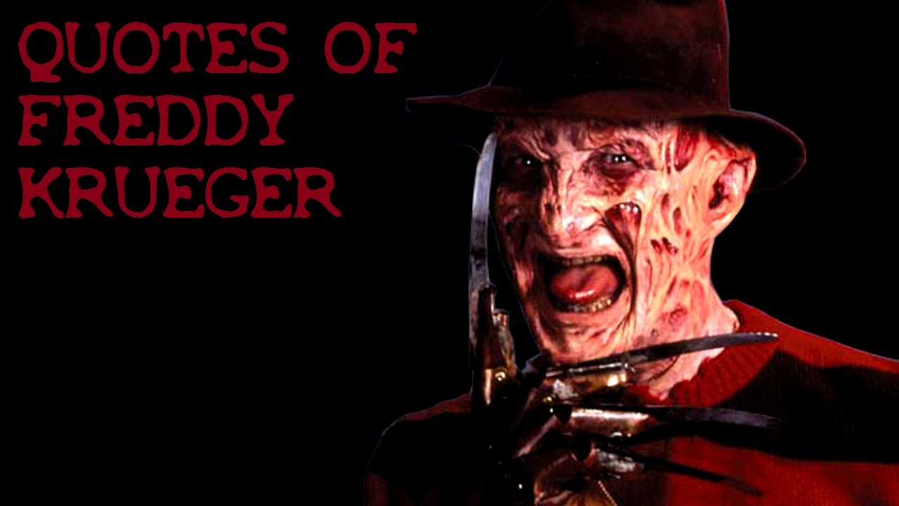 Nightmare On Elm St Quotes: Quotes Of Freddy Krueger HD