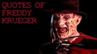 Quotes of Freddy Krueger HD