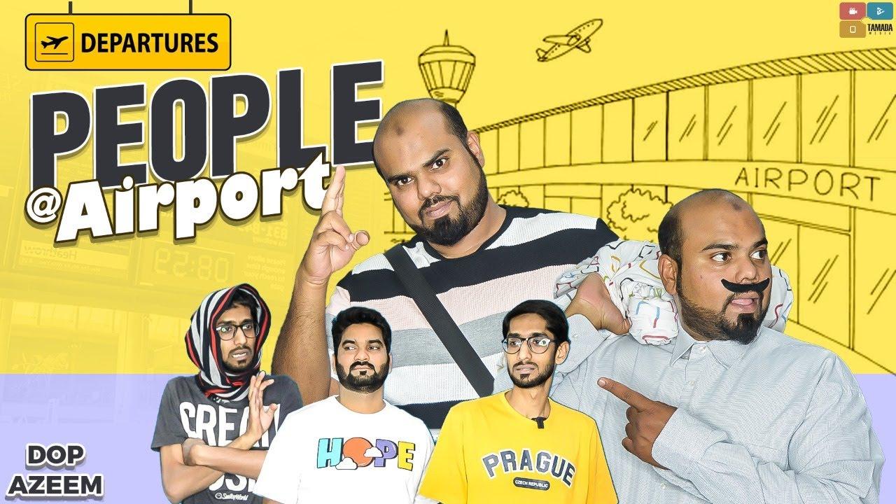 People at Airport | Hyderabadi Comedy | Deccan Drollz