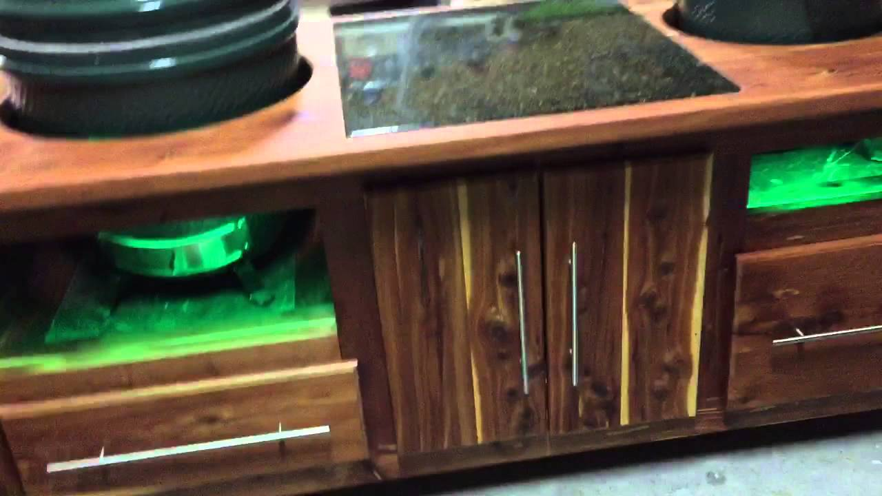 Big Green Egg Table Project