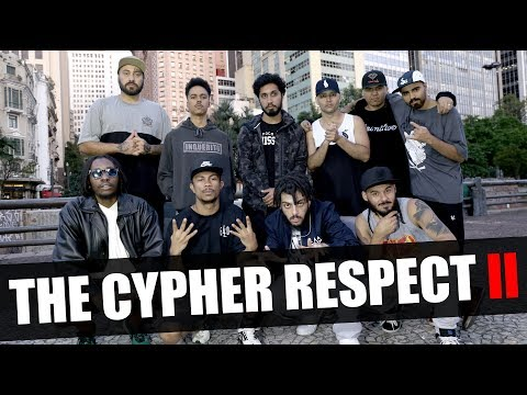 The Cypher Respect Vol. 2 - Atentado Napalm, Coruja BC1, Rin