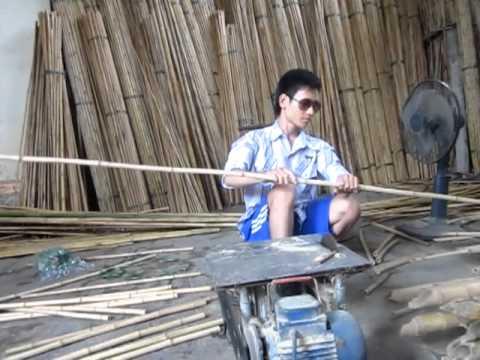 Trúc làm sáo - xưởng sáo Cao Trí Minh
