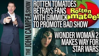 Rotten Tomatoes Leverages Justice League For Cheap Gimmick - The John Campea Show
