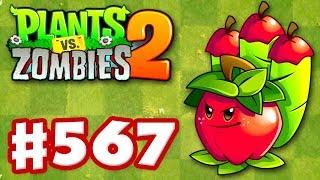Plants vs. Zombies 2 - Gameplay Walkthrough Part 567 - Apple Mortar Premium Seeds Epic Quest!