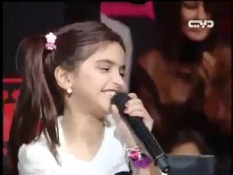 Arabic Song by cute arabic girl