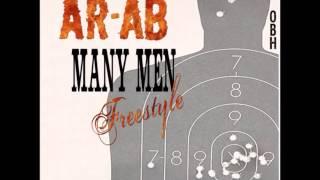 AR-AB - MANY MEN FREESTYLE (50 CENT REMIX)