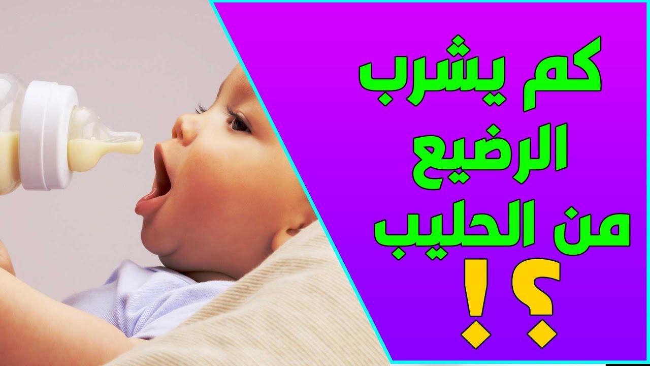 بالارقام كمية الحليب التي يحتاجها الرضع شهر بشهر Youtube