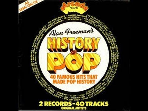 Allan Freeman History of Rock  - Silhouettes - Herman's Hermits/Arcade 1974