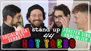 Hot Takes: Social Media Verbot bis zum 18. Lebensjahr! | Regular Stuff | Stand Up 44