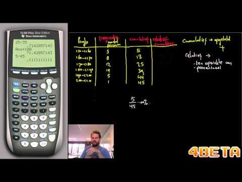 Wiskunde Standaardafwijking handmatig berekenen from YouTube · Duration:  6 minutes 41 seconds