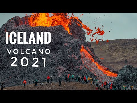 Iceland Volcano Eruption - 21.03.2021