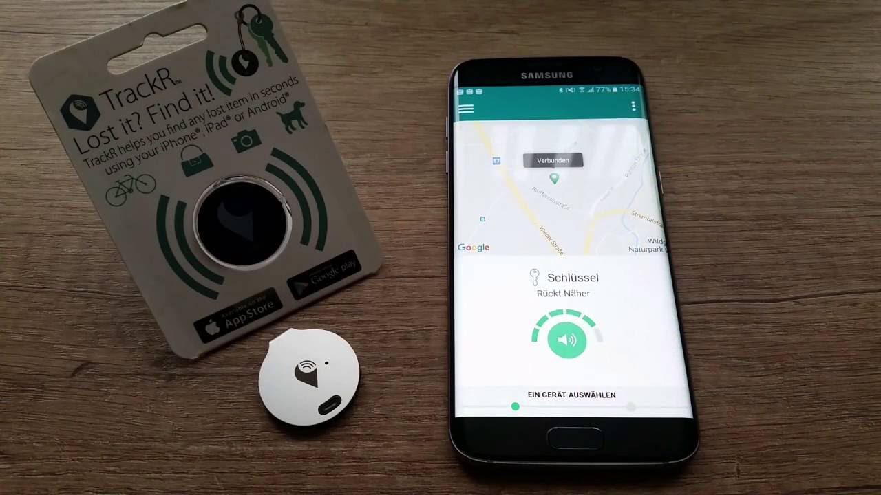 So EINFACH war Crowd GPS TRACKING noch nie zuvor - TrackR Bravo & TrackR  Sticker