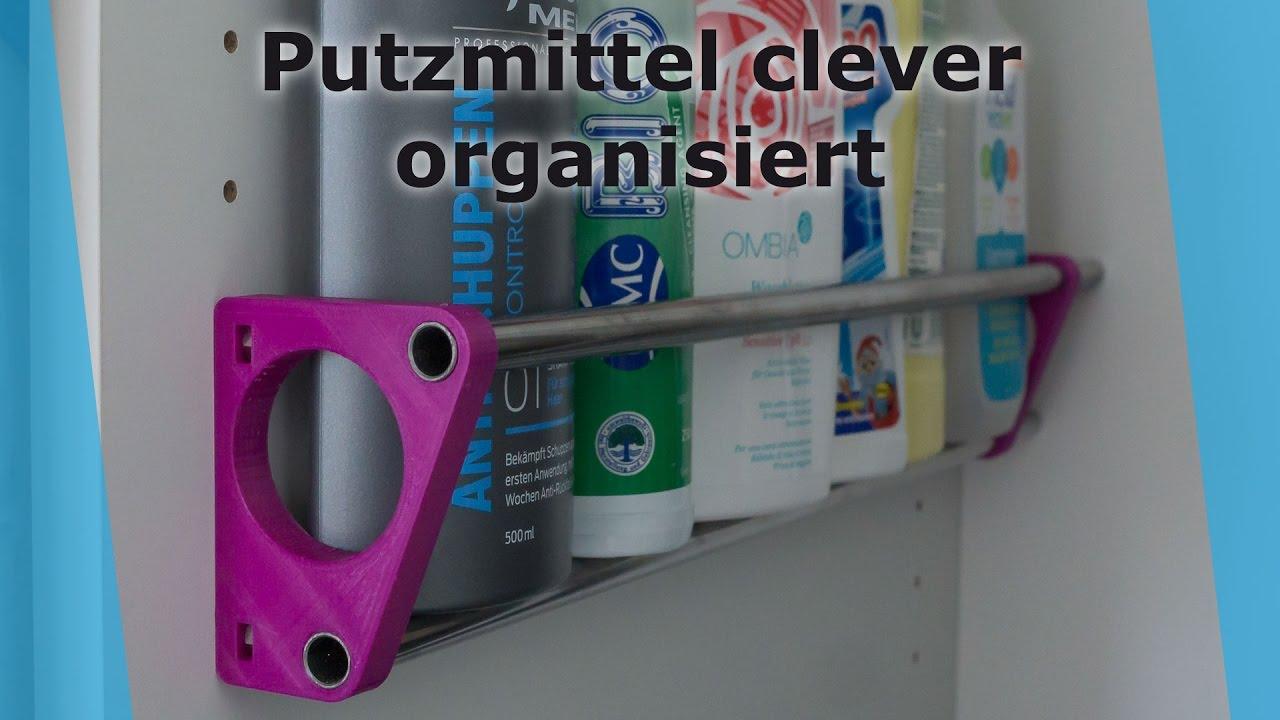 Putzmittel Platzsparend Organisiert Youtube