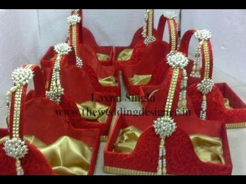9805ebd08 Indian Wedding Basket Decoration Ideas - YouTube