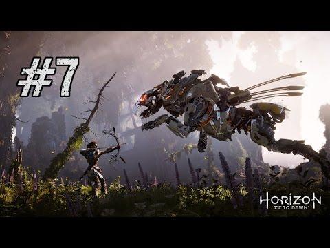 Let's Play Horizon Zero Dawn BLIND Gameplay/Walkthrough [Part 7] Fire Bellowback
