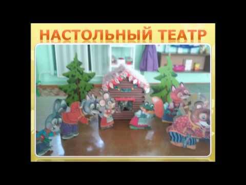 """ГУО """"Ясли-сад №36 г.Жлобина"""" Презентация театрального уголка"""