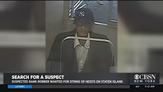 Suspect Wanted In String Of Bank Robberies