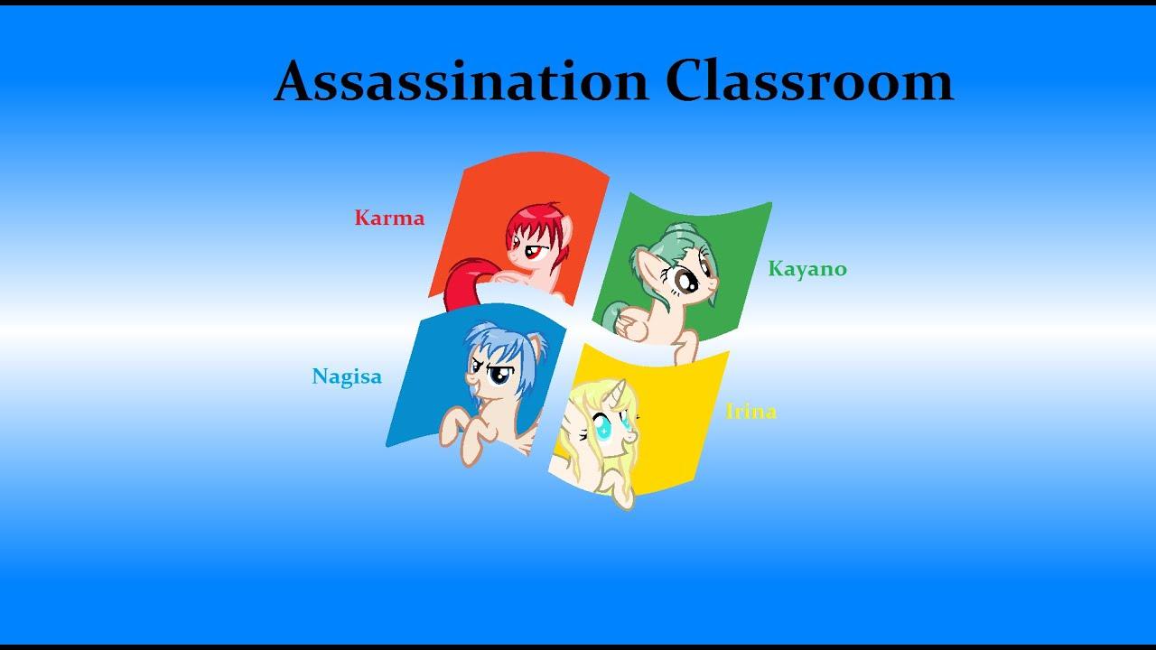 my little pony assassination classroom speedpaint