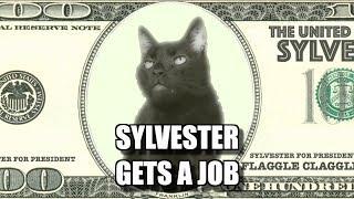 Talking Kitty Cat - Sylvester Gets A Job