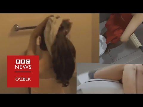 Яширин камерада олинган порно эпидемияси