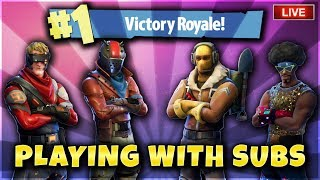 Fortnite Battle Royale Playing With Subs! New Dark Vanguard Skin and Rocket Rides 603 Wins PS4 PRO