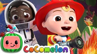 Jobs and Career Song  CoCoMelon Nursery Rhymes amp; Kids Songs