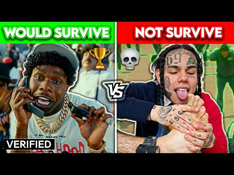RAPPERS WHO WOULD SURVIVE THE SQUID GAME vs. RAPPERS WHO WOULDN'T SURVIVE! |