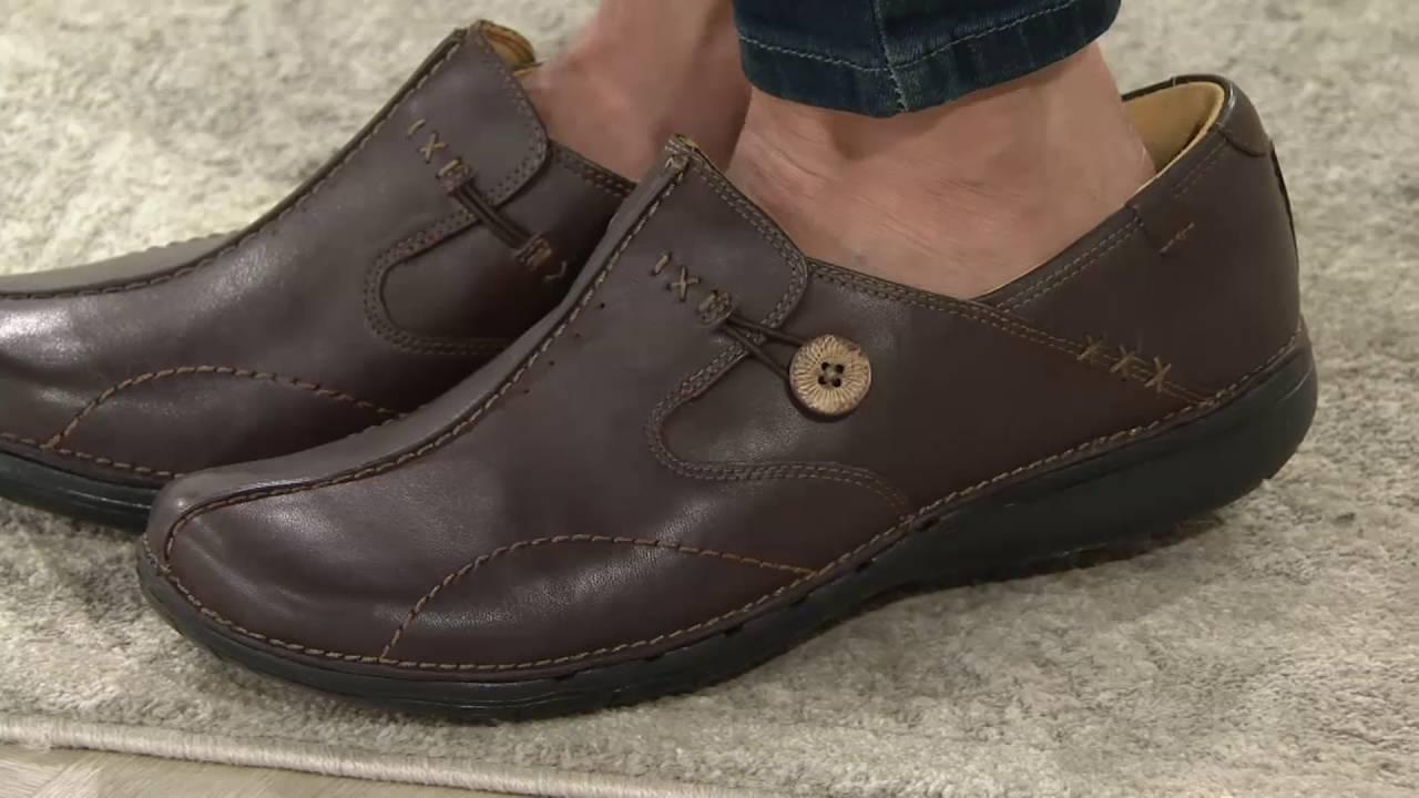 87f765802c7795 Chaussures et Sacs CLARKS Unstructured Un.Loop Slip-on Chaussures