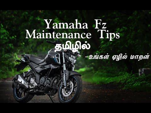 Yamaha FZ Maintenance Tips in Tamil   Two Wheeler Surgeon   Super Bike Technician