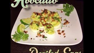 How To Make Avocado Deviled Eggs (mayo-free)