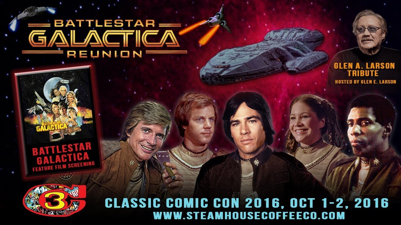 Download Battlestar Galactica | Reunion Panel | Classic Comic Con 2016