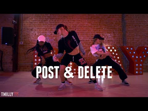 Zoey Dollaz, Chris Brown - POST & DELETE - Dance Choreography by Delaney Glazer - #TMillyTV