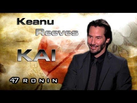 Entrevista Keanu Reeves - 47 Ronin: La Leyenda del Samurai