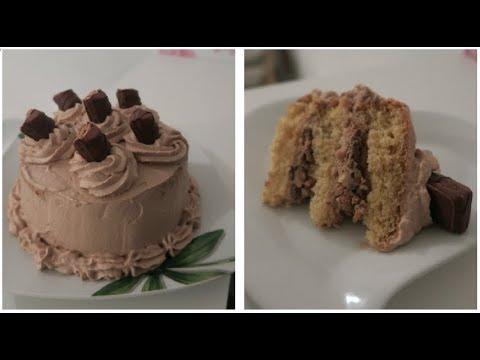 recette-layer-cake-debutant-:-kinder-bueno