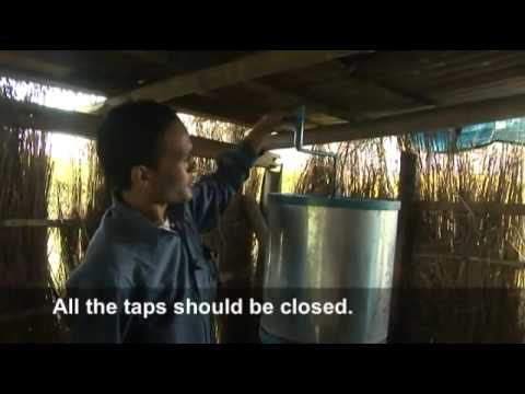 Making Struvite From Urine In Nepal