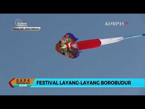 Meriahnya Festival Layang-Layang Borobudur