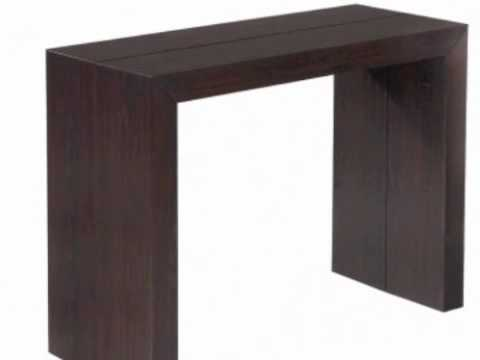 Table console shely wenge youtube - Table console modulable ...