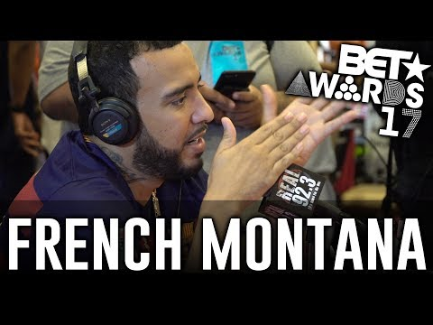 French Montana  in The BET Awards Radio Room w/ Dj A-Oh