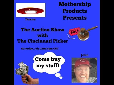 MSP-The Auction Show w/Cincinnati Picker