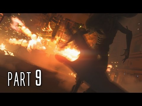 Alien Isolation Walkthrough Gameplay Part 9 - Footloose (PS4)