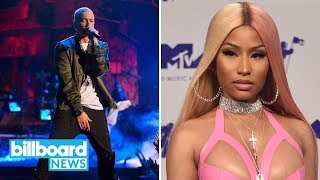 Joe Budden & Charlamagne Tha God Say Eminem & Nicki Minaj Were 'Trash' in 2017 | Billboard News