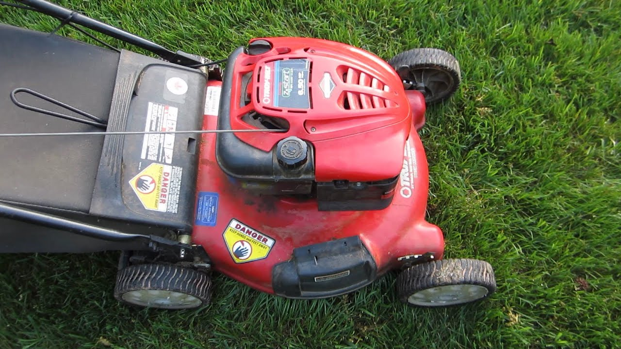 Troy Bilt 21 Lawn Mower 6 5 Briggs And Stratton Broken Craigslist