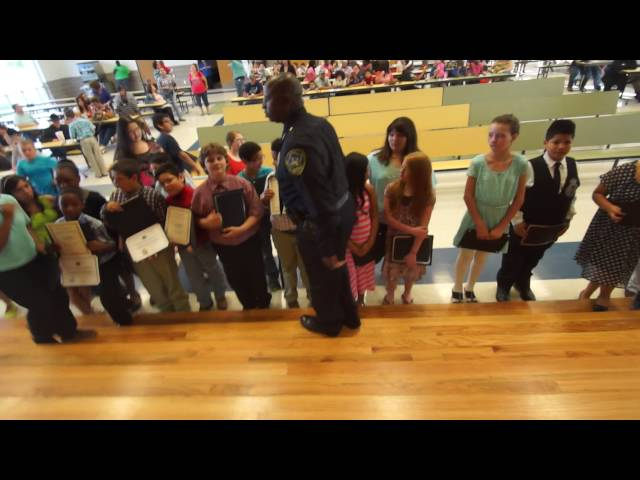 La Vega Police Department's Junior Police Academy 96