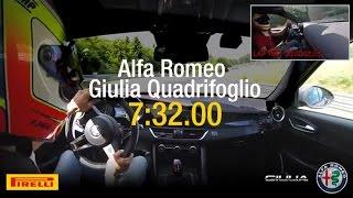 ألفا روميو جوليا QV تتغلب على بورش باناميرا في توقيت حلبة نوربرجرنج