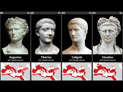 Timeline of the Roman and Byzantine Emperors
