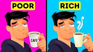 9 Things Poor People Buy But Rich People Never